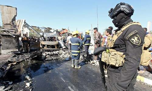 Iraq: Suicide attack kills at least 31 south of Baghdad