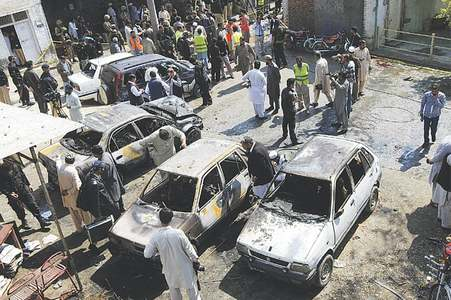 16 killed in suicide blast at courts in Shabqadar