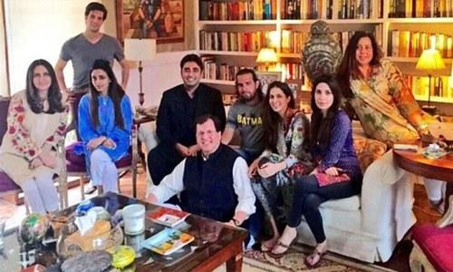 Bilawal visits Shahbaz Taseer