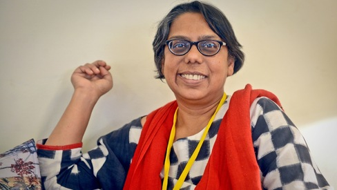 When an Emmy isn't enough: Ruchira Gupta talks about quitting journalism for activism