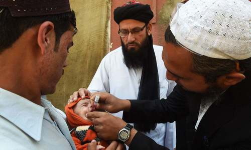 Footprints: Paying clerics to back polio drive