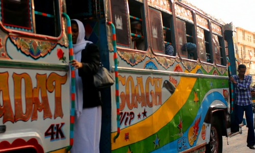 When will Pakistani men stop harassing women on buses?