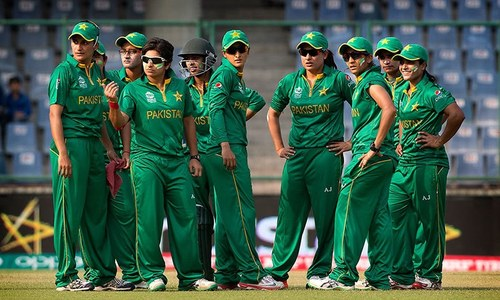 The girls in green have arrived. Where are the sponsors?