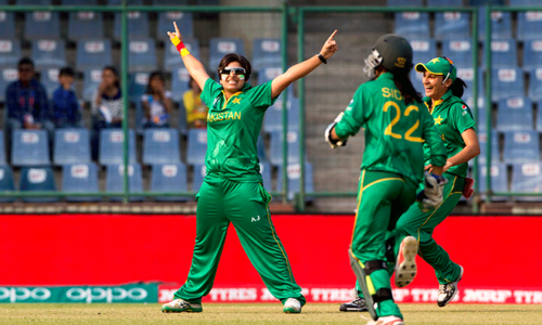Women's cricket win
