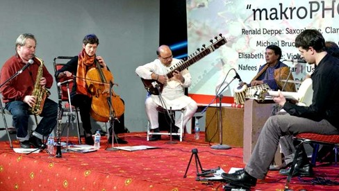Inspired by nature, Austrian, Pakistani musicians perform 'modern sounds'