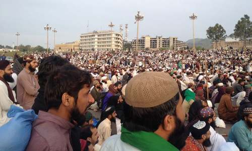700 protesters arrested from Islamabad