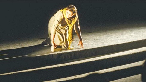 In 'About Time', 6 visual artists use the stage as their canvas. Was the 'experiment' a success?