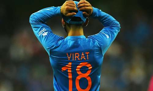 Virat Kohli does it all, almost