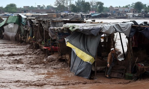 Rains, flash floods cause havoc in Khyber Pakhtunkhwa
