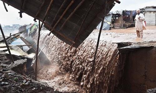 Rain, flash floods claim 60 lives in KP, GB