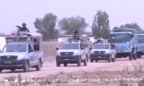 With army assistance, security operation underway in southern Punjab