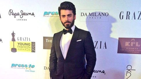 Fawad Khan in a bowtie at the Grazia Awards is possibly his best look ever