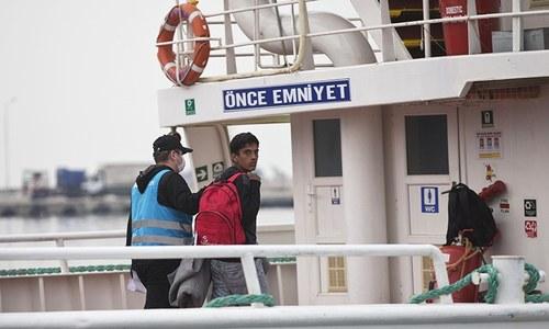 Turkey's parliament approves agreement to repatriate Pakistani migrants