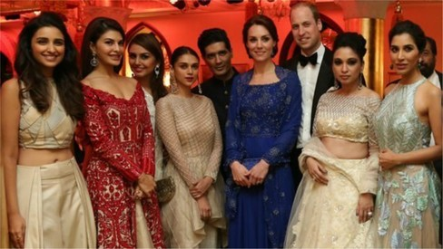 What happens when British royalty meets Bollywood royalty? We tell all