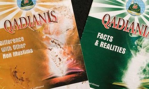 The pamphlets found from Stockwell Green mosque. ─ Courtesy: BBC