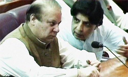 Shah accuses Nisar of being disloyal to Sharif