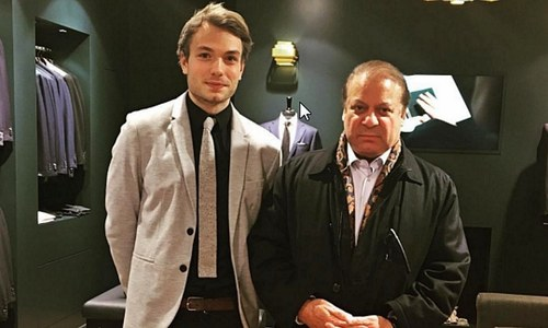 Did PM Nawaz shop for a suit at an upscale Mayfair boutique?