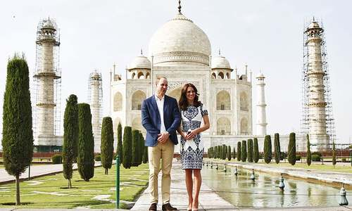 Prince William and Kate end India trip with historic Taj Mahal visit