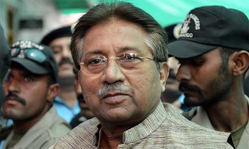 Red warrants suggested for Musharraf in treason case
