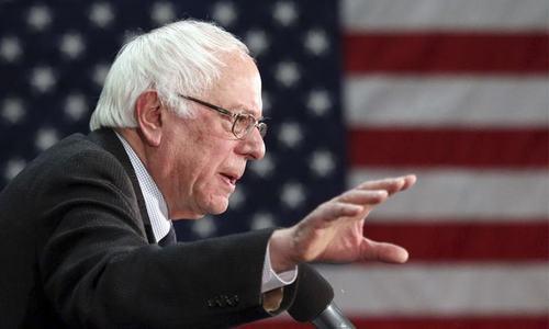 Criticism of Israel by Sanders splits Jewish American vote