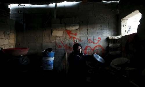 Displacing Palestinians