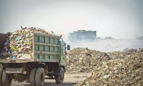First sanitary landfill site operational in Lahore