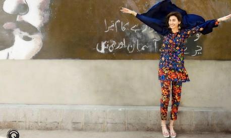 Model Abeer gives acting a shot in Sahir Lodhi's Raasta