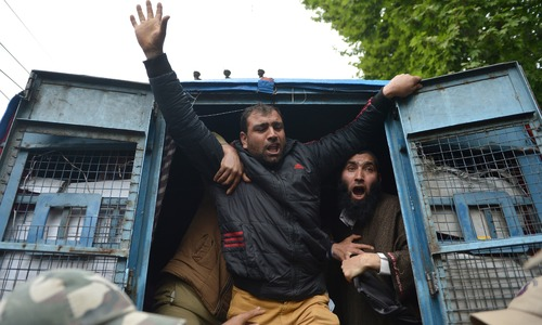 Several injured, detained as anti-India protests gain momentum in occupied Kashmir