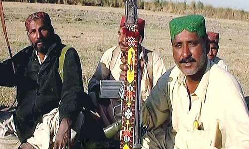 Does Chotoo gang have links with Baloch militants?