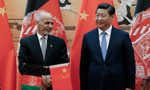 China eyes deeper military ties with Afghanistan