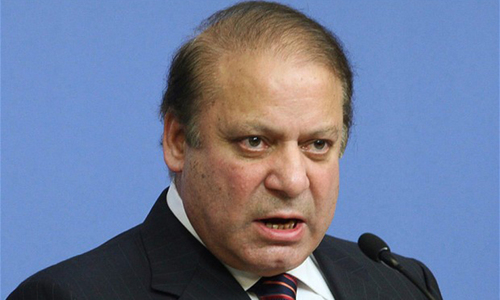 Govt won't allow anyone to destabilise country, asserts Nawaz