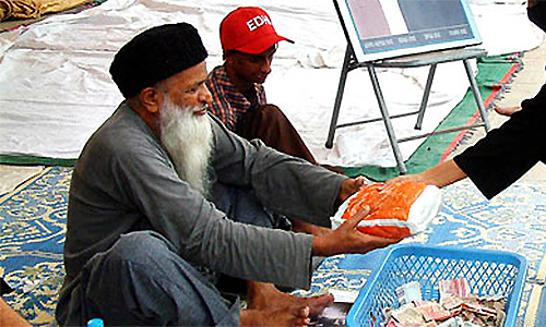 Edhi, the public's obstinately humble hero