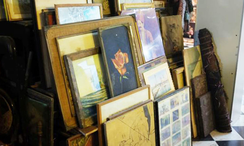 An antique market in Karachi's Saddar sells nostalgia