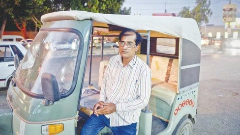 This rickshaw driver tells his journey from odd jobs to a singing career and back