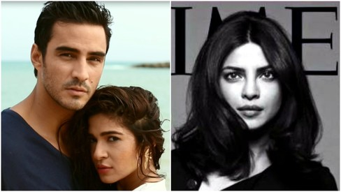 This week in pictures: Sikander and Ayesha get hotter in the Pepe Jeans ad and Priyanka rocks her Time cover
