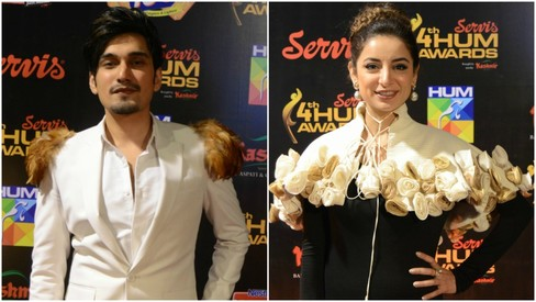 The red carpet at the Hum TV Awards was nothing to write home about