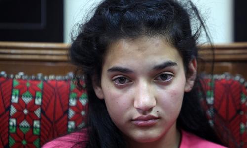 12 سالہ فلسطینی بچی کی رہائی