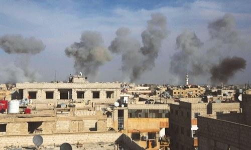 Air raids in Syria's Aleppo province kill at least 19