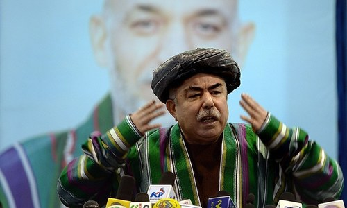 US refuses to say if Dostum is welcome