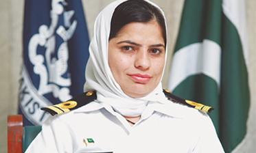بلوچستان سے پہلی کمیشنڈ نیول خاتون افسر