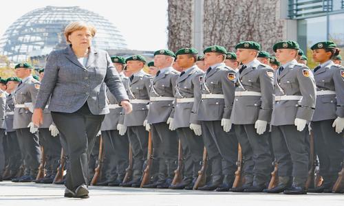Merkel should get the top UN job