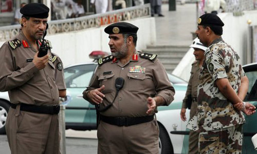 Saudi forces kill 2 militants after failed car-bombing