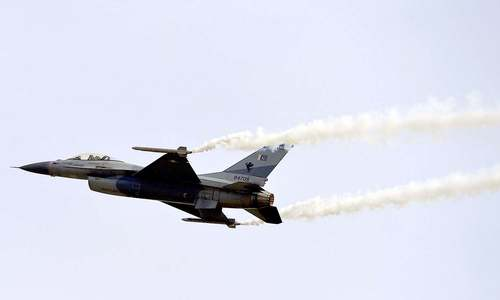 F-16s right platform for Pakistan's counterterrorism war: US