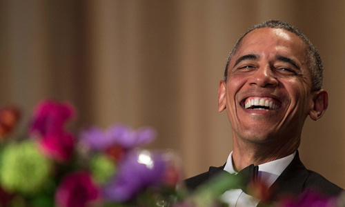 Obama torches Trump at his final US media dinner