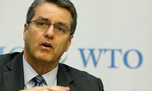 WTO chief seeks Islamabad's support for multilateral trading system