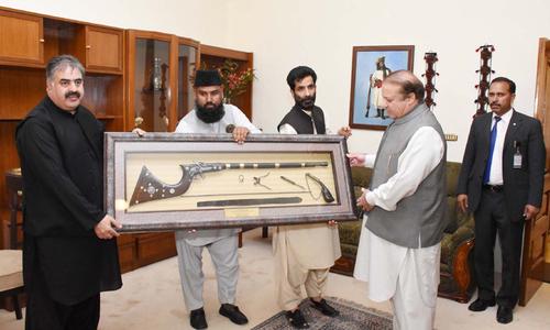 Sharif says instability drives away investment