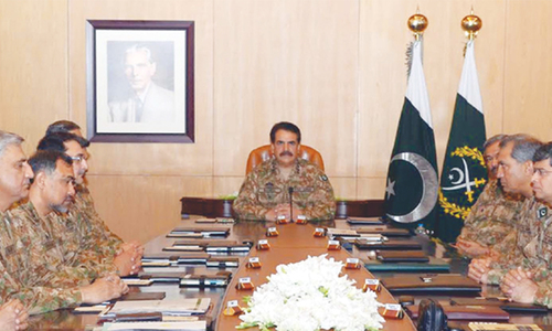 Army approves operational details of 'combing operations'