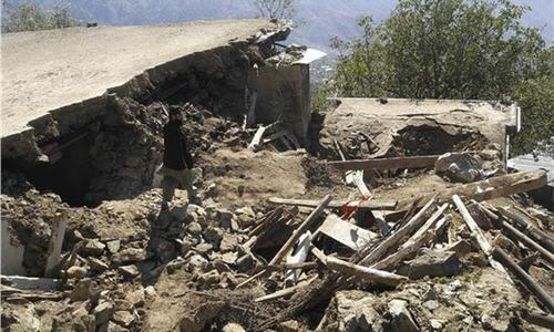 KP govt indifferent to misery of Chitral quake survivors