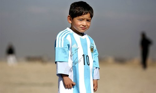 Threats force Afghan Messi fan's family to move to Pakistan