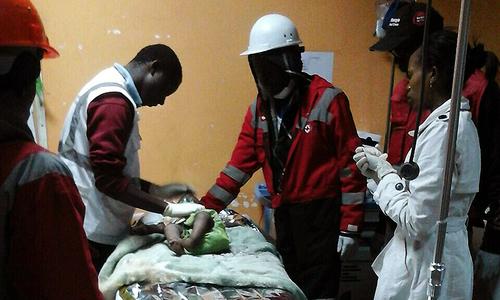 Toddler rescued 4 days after Kenya building collapse